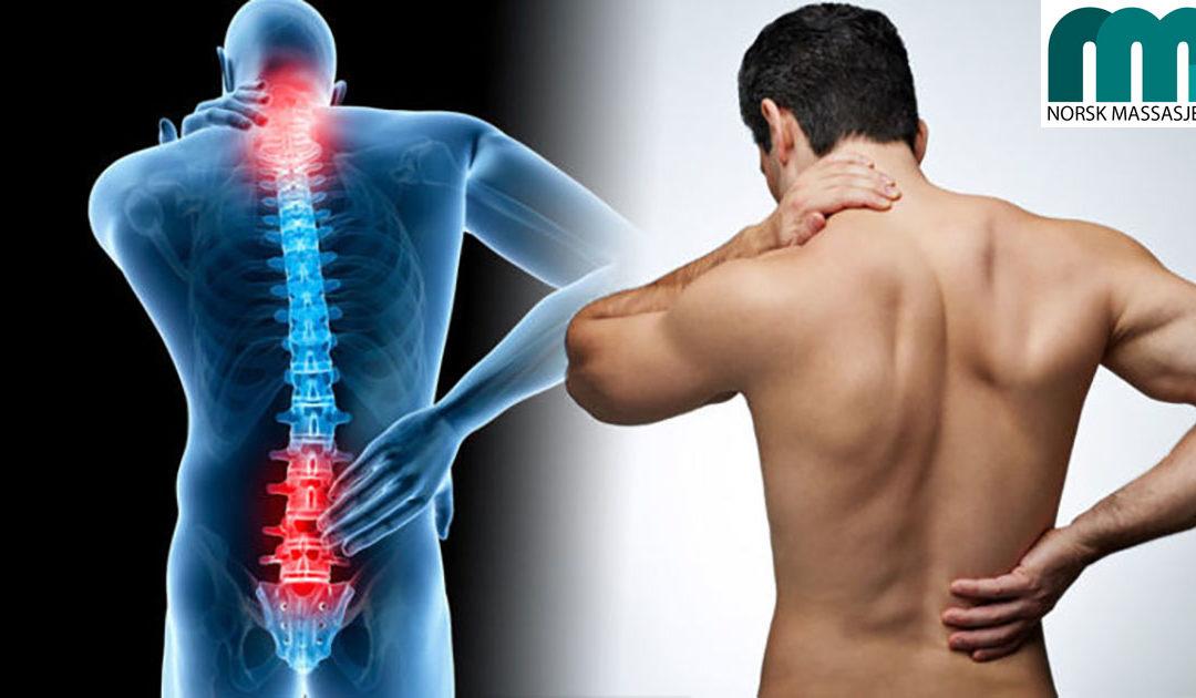 Massasje hjelper ved ryggsmerter